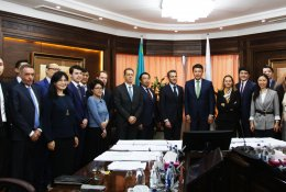 "JSC NC ""KazMunayGas"" and Eni Isatay B.V.  sign a number of agreements on the Abai project"